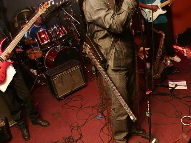 Jahmark & the Soulshakers - rehearsal